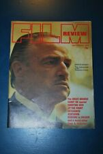 Vintage Film review September 1972 The Godfather Marlon Brando rare magazine