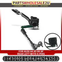 Headlight Level Sensor Rear Right for Audi A6 A8 S6 S7 S8 4H0941310C 2012-2017