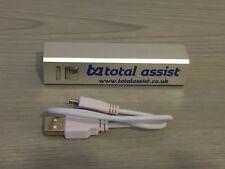 * nuevo 2200 mAh Power Bank Powerbank Puerto USB Cargador de batería portátil USB carga