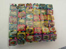 12 MULTI-COLOURED RELIGIOUS/HOLY WOODEN BEAD STRETCH BRACELETS.   (1 PACK).