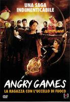 ANGRY GAMES LA RAGAZZA CON L'UCCELLO DI FUOCO DVD