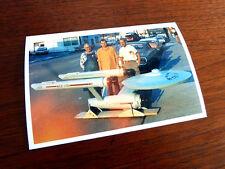 Ultra Rare Vintage (( 1st Star Trek USS Enterprise )) Lifesize Model Photo 1965?