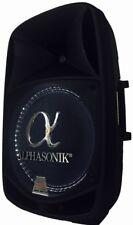 """Alphasonik 15"""" 2800 Watt Amplified Pro DJ Bluetooth Speaker W/ USB & SD Card"""