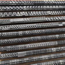 24p IMPRIMATUR - Bleisatz Buchdruck Handsatz Letterpress Type Bleilettern Druck