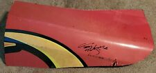 TONY PEDREGON SIGNED NHRA RACE USED BODY 2008 POMONA WINTERNATIONALS EXPLOSION!!