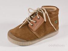 Babybotte chicos Atlas Leonado Gamuza Zapatos Con Cordones UK 9 EU 27 nos 9.5 RRP £ 56.00