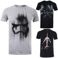 Star Wars Men's T-Shirt - The Dark Side Collection - Storm Trooper Darth Vader