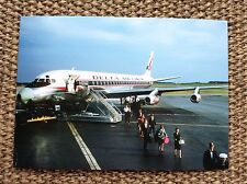 Delta Airlines DC8 Post Card At Atlanta 9/18/1959 in color