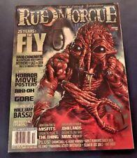 Rue Morgue Magazine 116 OCT 2011 14thAnniversary Halloween Fly Cronenberg Horror