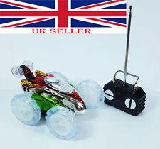 Turbo 360° Twister Radio Control Wildest Stunt Car Toy Vehicle Flashing Light UK