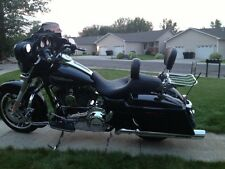 4point docking kit Harley Davidson Touring Detachable Backrest Sissy bar 09-13