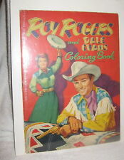 VINTAGE ROY ROGERS AND DALE EVANS COLORING BOOK