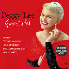 Peggy Lee GREATEST HITS / THE MAN I LOVE / BLACK COFFEE 49 Songs NEW SEALED 2 CD