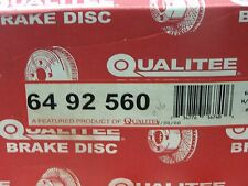 NOS Qualitee R92560 Front Disc Brake Rotor Set fit Ford E250 F250 Pickup 3/4 Ton