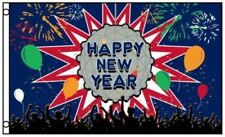 3x5 Happy New Year Years Eve Ball Flag 3'x5' Banner Brass Grommets