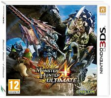 Monster Hunter 4 Ultimate 3DS RECIBELO EL DIA DEL LANZAMIENTO Nintendo DS