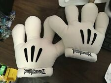 Disneyland Resorts Parks White Plush Mickey Minnie Mouse Hands Costume Hallow