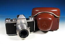 Pentacon Praktica IV SLR Kamera camera Meyer Görlitz Primotar E 3.5/50 - 101943