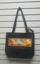Harriet Rosebud Large Tote Bag/Purse Class A On A Sunny AFRICAN AMERICAN ARt
