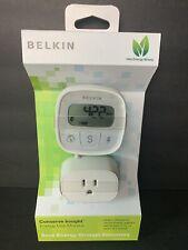 NEW Belkin Conserve Insight Energy Use Monitor F7C005 NIB Free Shipping