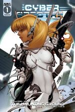 Cyber Spectre #1 (Exclusive Kickstarter Paul Green Variant, Scout Comics)