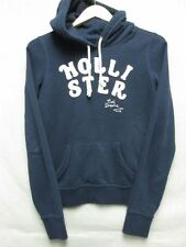 V5350 Hollister Blue Soft Central Pocket Hoodie Women's M