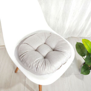 Round Thick Chair Seat Cushion Patio Mat Floor Pad Living Room Garden