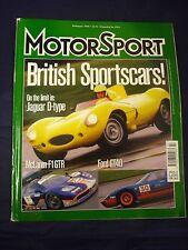 Motorsport Magazine - February 1998 - Jaguar D Type - GT40 - Mclaren F1 GTR