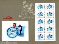 Collector planète timbres de 2012 du carré d'encre au salon du timbre