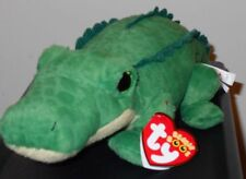 Ty Beanie Boos - SPIKE the 6 Inch Alligator / Crocodile - 2017 NEW FREE SHIPPING