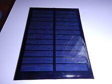 6V x 200 mA Mini Solar Panel epoxy encapsulated virtually indestructible