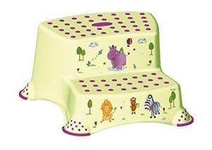 keeeper kids Kinder Tritthocker igor hippo zweistufig grün anti rutsch Schemel