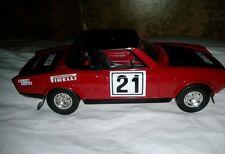 Fiat 124 abarth  burago 1:24