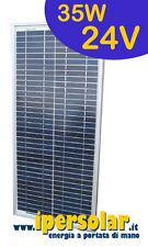 Pannello solare fotovoltaico 35 Watt/24V