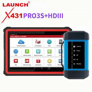 New Launch X431 PRO3S+ HDIII 12V car & 24V truck Diagnostic tool