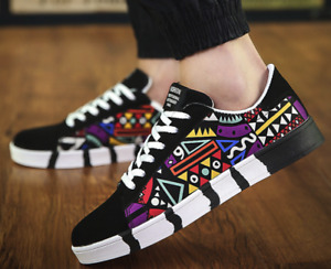New Men's Casual Shoes, Canvas Shoes, Round Toe Fashion Student Sports Shoes