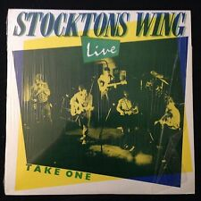Stocktons Wing Live Take One Tara Original Irish Pressing 1985 in Shrink
