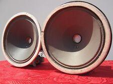2 Speaker klangfilm Field Coil  NOS PERFECT CONE