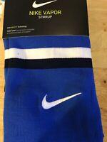 NIKE Dri-Fit Baseball Vapor Stirrup Socks Adult Unisex One Size Fits Most Royal