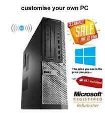 Dell Optiplex Windows 10 Desktop Computer Cheap QUAD Core i5 Spec PC 16GB Ram