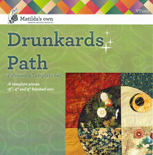 "Matildas Own 3"" 4"" and 5"" "" Drunkards Path Patchwork Template Set"