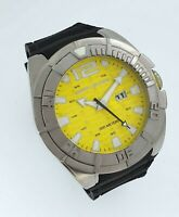 Body Glove Big Divers Scuba Yellow Watch NEW XXL Original BG305103 300M WR