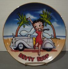 1993 Betty Boop Danbury Mint Limited Edition Collector'S Plate This Is The Life