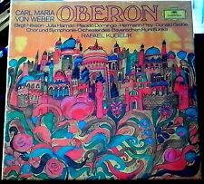 Weber/Nilsson/Kubelik   Oberon   3 lps  DG