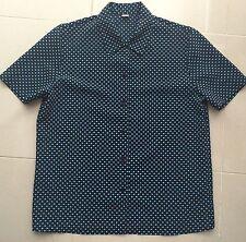 Black & Turquoise Multi-colour Short Sleeve Blouse Size 8 (BN)