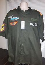 ESMX New Men's Short Sleeved Button Up XL Brand New With Tags