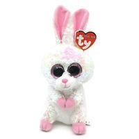 "2019 Easter Ty Flippables Sequin 6"" Beanie Boo BONNIE Bunny Rabbit Plush MWMTs"