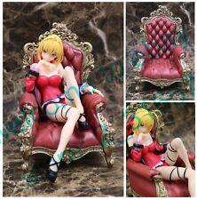 Fate extra Last Encore Saber Nero Claudius Sexy Lingerie girl throne PVC figure