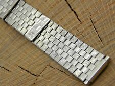 Vintage Watch Band Adjustable Expansion Stainless Steel 14mm-19mm Unused NOS