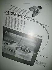 PUBLICITE DE PRESSE KODAK CINE-KODAK CAMERA KODASCOPE FRENCH AD 1932